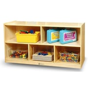 A+ Child Supply Infant 5 Compartment Shelving Unit