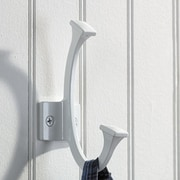 Richelieu Transitional Wall Hook; White
