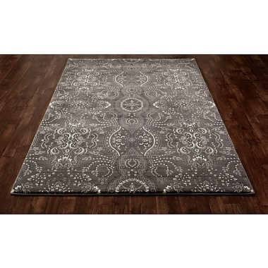 Art Carpet Maison Black Area Rug; 5'7'' x 8'6''