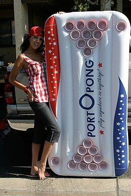 Port o Pong Inflatable Beer Pong Table;