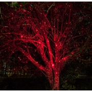 The Holiday Aisle Static Laser Projector; Red