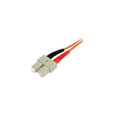 StarTech 10m Fiber Optic Cable Multimode Duplex 50/125 LSZH LC/SC Network Cable LC Multi-Mode to SC Multi-Mode