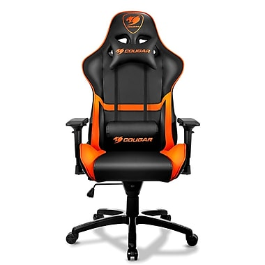 Cougar armor gaming chair black staples for Chaise gamer pc