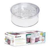 Euro Cuisine Expansion Kit with Extra Top Tier Tray & 8-6oz Jars (GYK1)