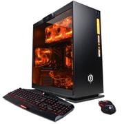 CyberPowerPC - PC de jeu SLC8520INC Gamer Supreme Liquid Cool, AMD Ryzen 7 1800X, 2To + 120Go, 16 Go, GTX 1070, Win10