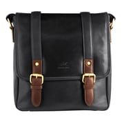 Mancini Calabria Collection Leather RFID Secure Crossover Tablet Bags