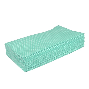 Hospeco Saniworks Econo Disposable Cloths, Green