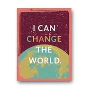 KindredSolCollective 'Change the World' Graphic Art on Canvas