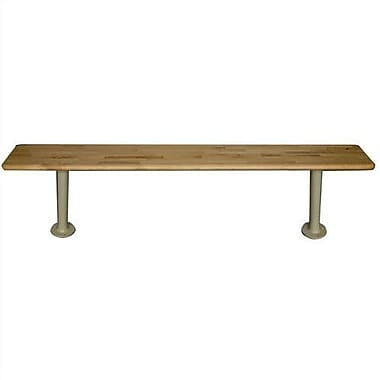 Hallowell Maple Bench Top (Pedestals Sold Separately); 48''