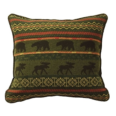 Wooded River McWoods I Throw Pillow