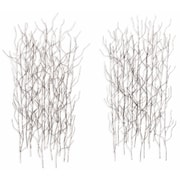 Artisan House 2 Piece Winter Thicket Wall D cor Set