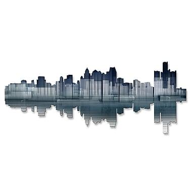 All My Walls Detroit Reflection Wall D cor