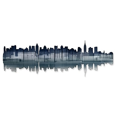 All My Walls New York City Reflection Wall D cor