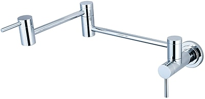 Pioneer Motegi Wall Mounted Pot Filler; Stainless Steel