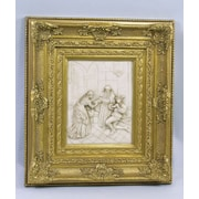 AA Importing Plaque w/ Framed Painting Print