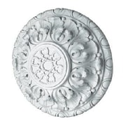 Hickory Manor House Acanthus Deep Ceiling Medallion; Any Finish