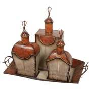 Privilege Perfume Bottles and Tray Set
