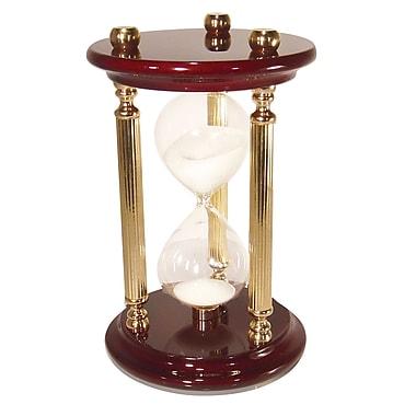 River City Clocks 15 Minute Sand Timer Hourglass