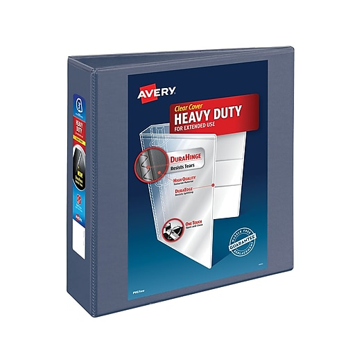 """Shop Staples For 3"""" Avery® Heavy-Duty View Binder With One"""