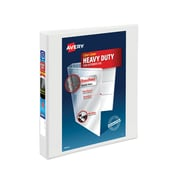 Avery Heavy Duty 1-Inch D 3-Ring View Binder, White (79-799)