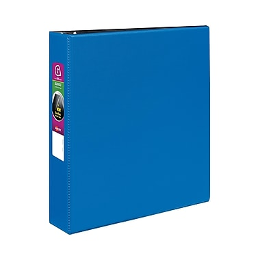 Avery Durable 2-Inch Slant D 3-Ring Non-View Binder, Blue (27551)