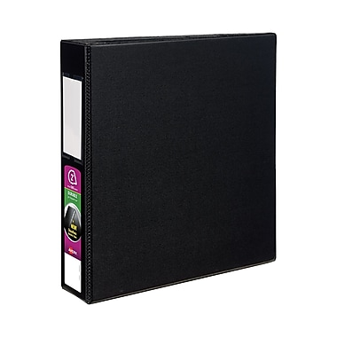 Avery Durable 2-Inch D 3-Ring Non-View Binder, Black (08502)