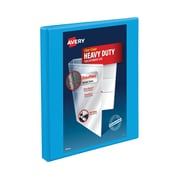 """1/2"""" Avery® Heavy-Duty View Binder with Slant-D™ Rings, Light Blue"""