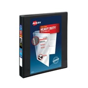 Avery Heavy-Duty 1-Inch Slant D 3-Ring View Binder, Black (5300)