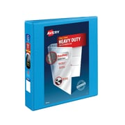 Avery Heavy-Duty 1.5-Inch Slant D 3-Ring View Binder, Light Blue (5401)