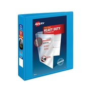 "2"" Avery® Heavy-Duty View Binders with One Touch Slant-D™ Rings, Light Blue"