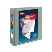 "Avery(R) Heavy-Duty View Binder with 2"" One Touch EZD(TM) Ring 79402, Gray"