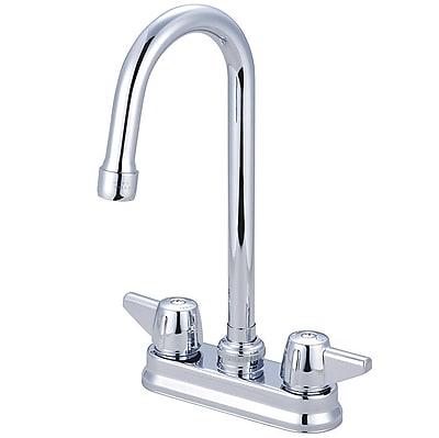 Central Brass Double Handle Bar/Laundry Faucet