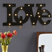 AdecoTrading LED ''LOVE'' Letter Wall Decor