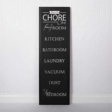 Adams & Co Chores Chalkboard Sign Wall D cor