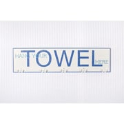 Adams & Co Hang Your Towel Hook Board Wall D cor
