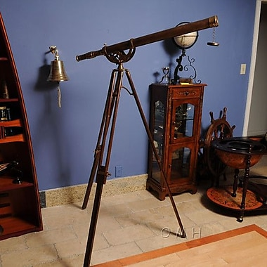 Old Modern Handicrafts Decorative Telescope w/ Stand