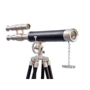 Handcrafted Nautical Decor Griffith Astro Refracting Telescope; Brushed Nickel