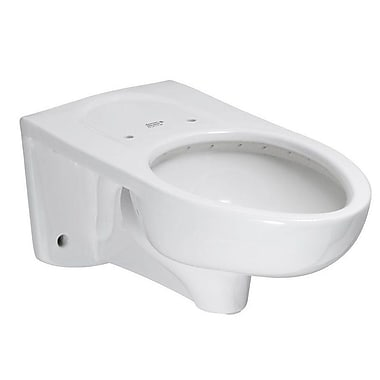 American Standard Afwall Flowise Dual Flush Elongated Toilet Bowl