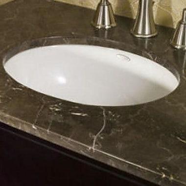 American Standard Ovalyn Rim Undermount Bathroom Sink w/ Overflow