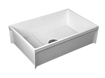 American Standard Commercial Fiat 9.5'' x 24'' Freestanding Molded Utility Sink