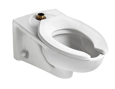 American Standard Afwall Millennium Flowise Dual Flush Elongated Toilet Bowl