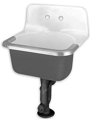 American Standard Akron Enameled 24'' x 20.5'' Service Utility Sink