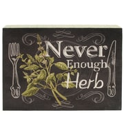 Blossom Bucket 'Herb' Box Sign Wall D cor