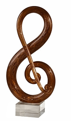Dale Tiffany Musical Note Sculpture