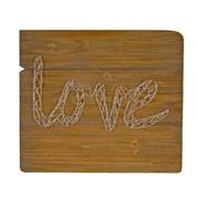 American Mercantile Wood Love String Art