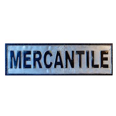 American Mercantile ''MERCANTILE'' Sign Wall D cor