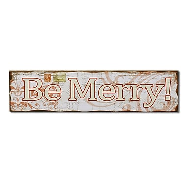 AdecoTrading ''Be Merry'' Wall D cor
