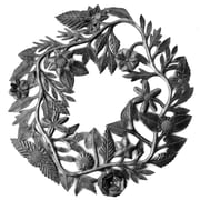 BeyondBorders Floral Wreath Wall Decor