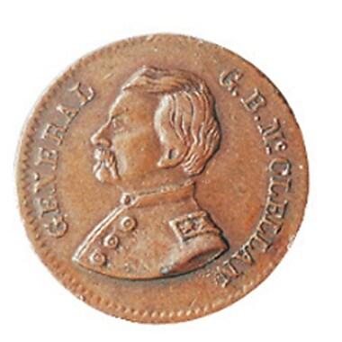 American Coin Treasure Genuine Historical Civil War Token