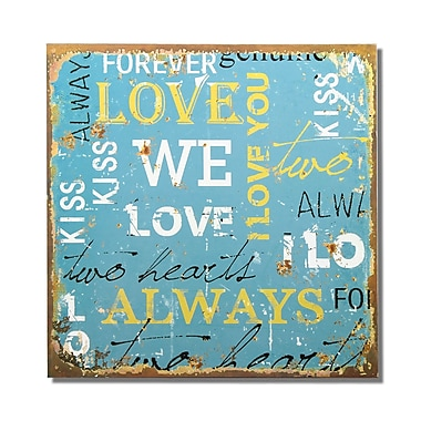 AdecoTrading ''Love'' Wall Decor